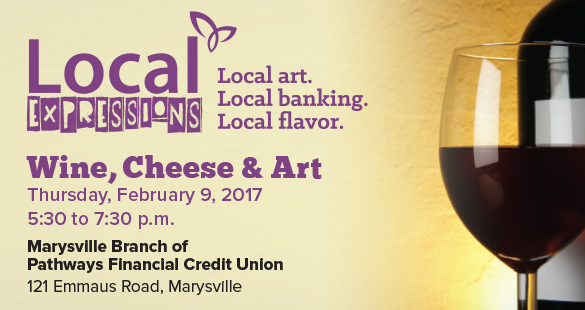 Local Expressions Wine Cheese and Art in Marysville