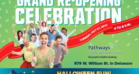 Join Pathways for our Delaware Branch's Grand Re-Opening on Tuesday, October 31!