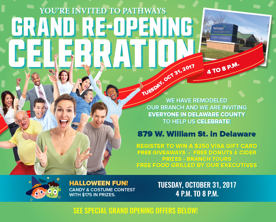 Pathways Financial Credit Union grand re-opening