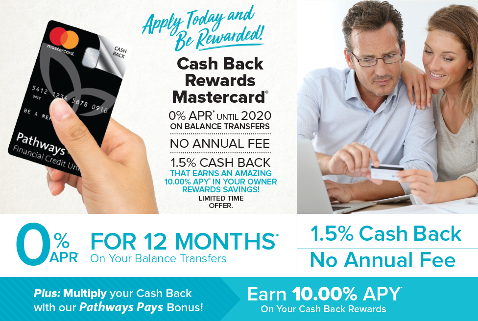 Cash Back Rewards Mastercard