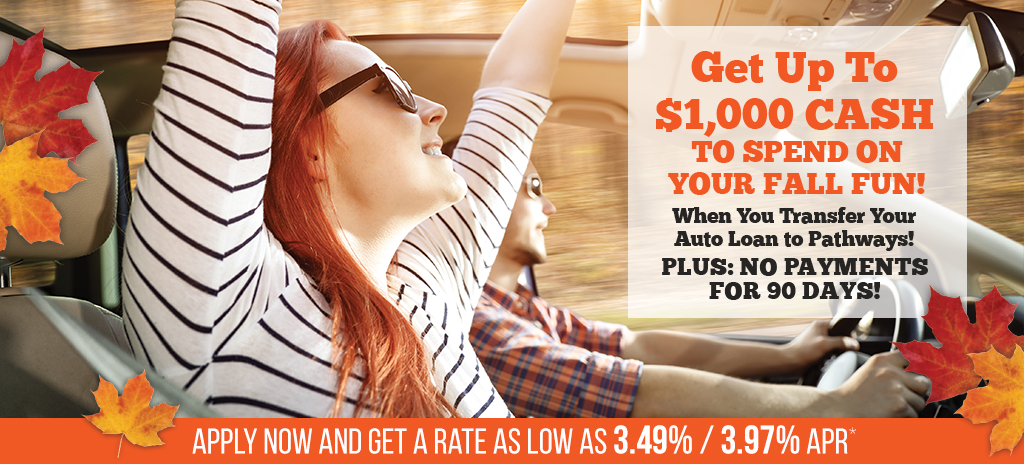 Refinance your auto loan at Pathways
